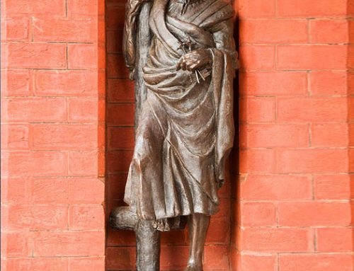 St Peter, Half Life Sized Bronze