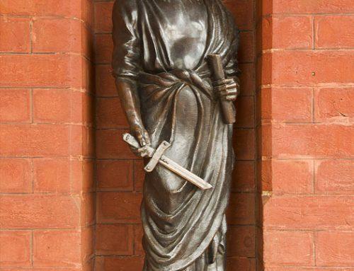 St Paul, Half Life Size Bronze